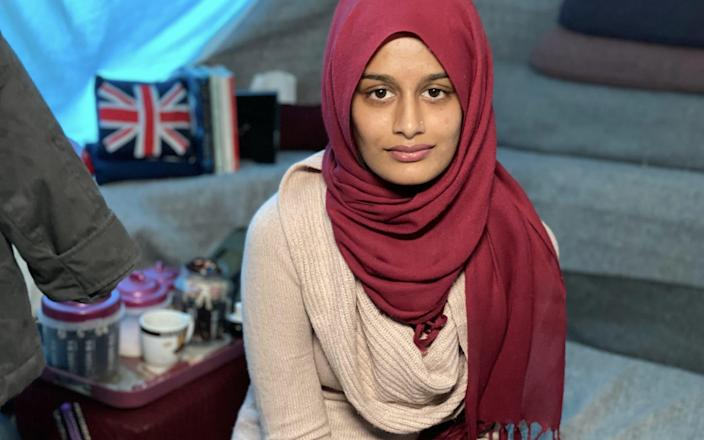 Shamima Begum was found in a refugee camp in 2019 - ABC News