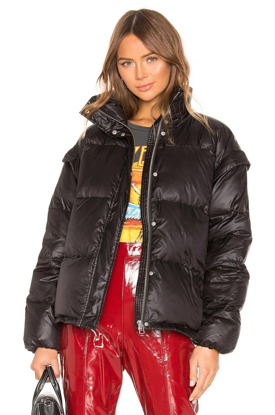 """<br><br><strong>LPA</strong> Ortensia Jacket in Black, $, available at <a href=""""https://www.revolve.com/lpa-ortensia-jacket/dp/LPAR-WO109/?d=Womens&page=1&lc=5&itrownum=2&itcurrpage=1&itview=01&plpSrc=%2Fr%2FSearch.jsp%3Fsearch%3Dblack%2Bpuffa%2Bcoat%26d%3DWomens%26s%3Db%26c%3DLPA%26sortBy%3Dfeatured"""" rel=""""nofollow noopener"""" target=""""_blank"""" data-ylk=""""slk:Revolve"""" class=""""link rapid-noclick-resp"""">Revolve</a>"""