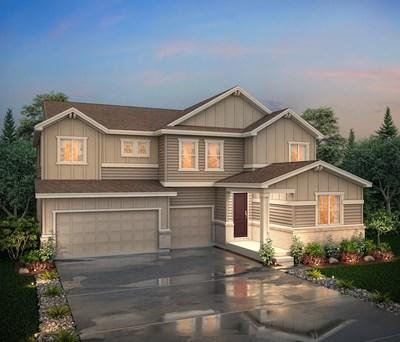 Two-story floor plan at Morgan Hill in Erie, CO | Century Communities
