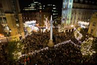 """<p>Head to London's West End on November 16 for an impressive light switch on. At 6.30pm, the countdown to the Christmas lights will begin followed by a food and shopping event until 9pm. There'll be live music from the 600-strong choir, Some Voices, as well as lots of discounts to enjoy. Register for free tickets <a rel=""""nofollow noopener"""" href=""""https://www.sevendials.co.uk/"""" target=""""_blank"""" data-ylk=""""slk:here"""" class=""""link rapid-noclick-resp"""">here</a>.<br><br></p>"""