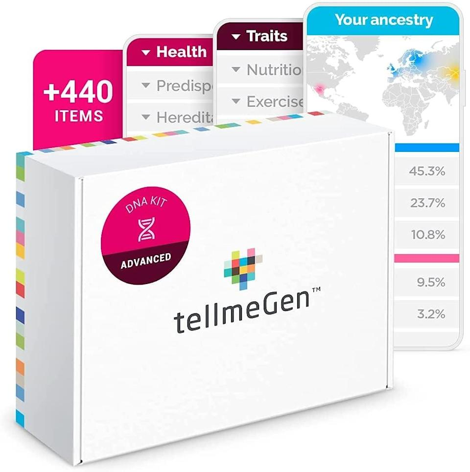 <p>Dr. Ramón Catalá wanted to make genetic testing affordable and accessible, so he spearheaded the <span>TellmeGen DNA Test Advanced </span> ($118, originally $139). This genetic test tells you more than just your ancestry, including your genetic predispositions so you can modify your health and well-being accordingly. </p>