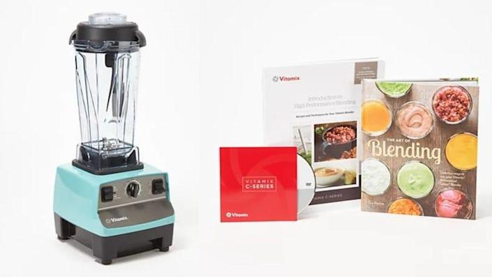 This Vitamix juices, blends, grates, chops, and more.