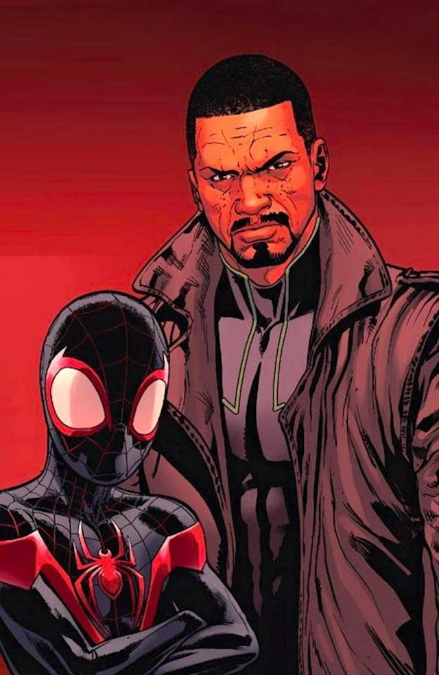 Miles Morals/Ultimate Spider-Man and Aaron Davis/The Prowler (Image: Marvel)