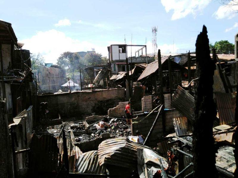 40 houses razed in T. Padilla blaze
