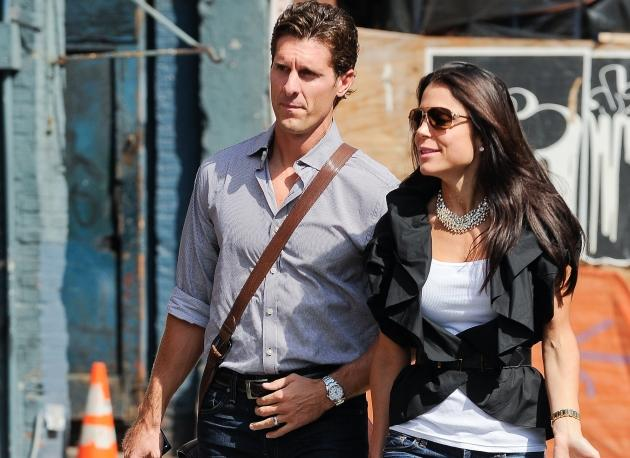 Jason Hoppy and Bethenny Frankel walk in the Meatpacking District on September 23, 2010 in New York City -- Getty Premium