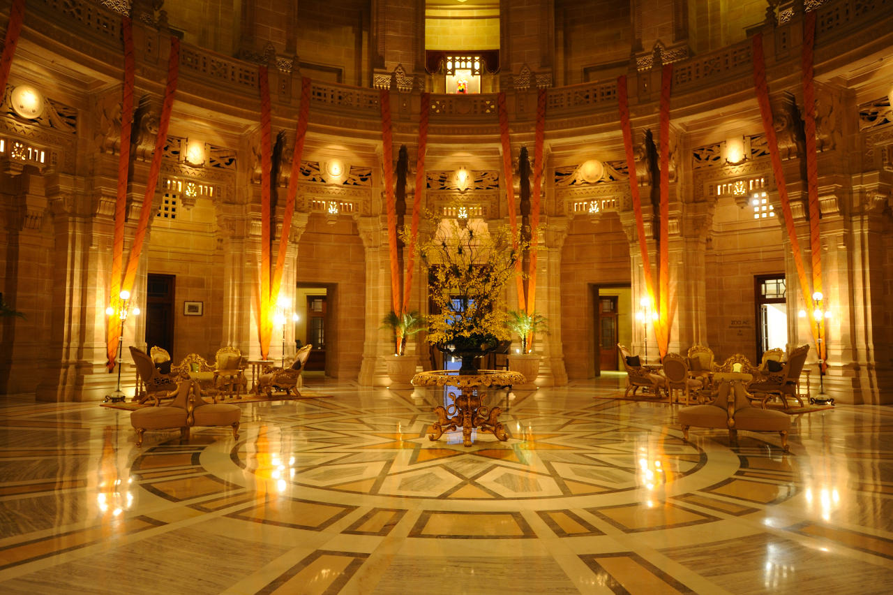 A part of the palace is managed by Taj Hotels. A part of the palace is a museum.