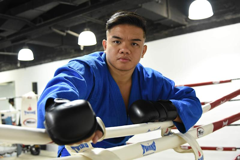 Nazri Sutari hopes to win a gold medal for Singapore in the martial art of sambo at the 2019 SEA Games in Manila. (PHOTO: Zainal Yahya/Yahoo News Singapore)