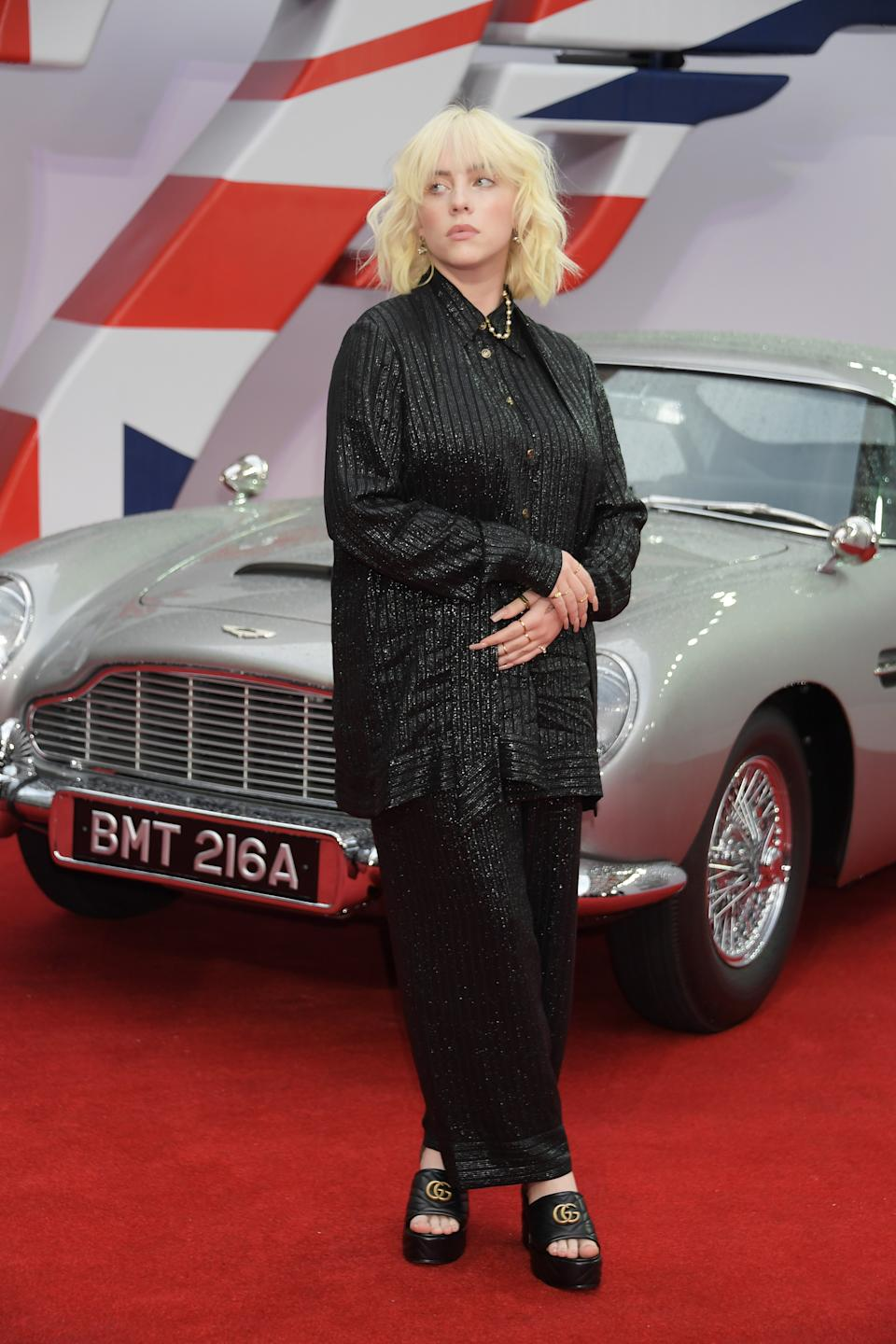 Billie Elish composed the theme song for the much-delayed James Bond 007 movie. (Getty Images)