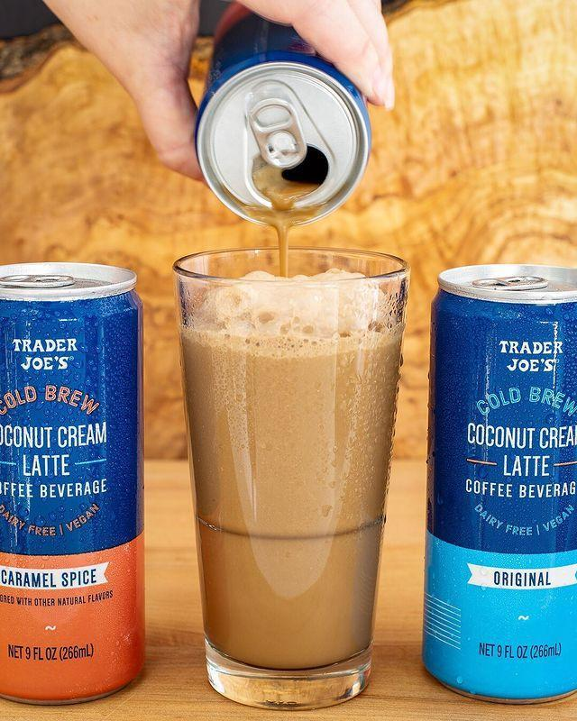 """<p>These dairy-free drinks sound amaaazing: There's a caramel spice version, made with natural flavors of caramel, cinnamon, and citrus, and an original flavor. Each 9-ounce can costs $1.99!</p><p><a href=""""https://www.instagram.com/p/ByEf3LVn9ih/"""" rel=""""nofollow noopener"""" target=""""_blank"""" data-ylk=""""slk:See the original post on Instagram"""" class=""""link rapid-noclick-resp"""">See the original post on Instagram</a></p>"""