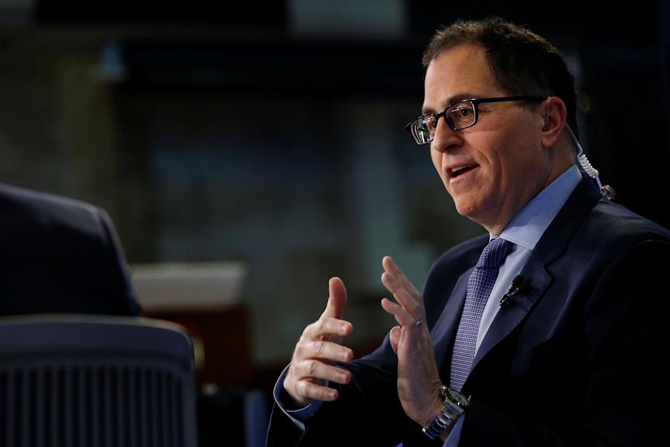 Michael Dell is the chairman and CEO of Dell Technologies, which was formed in 2016 when Dell merged with computer storage giant EMC. Photo: Reuters