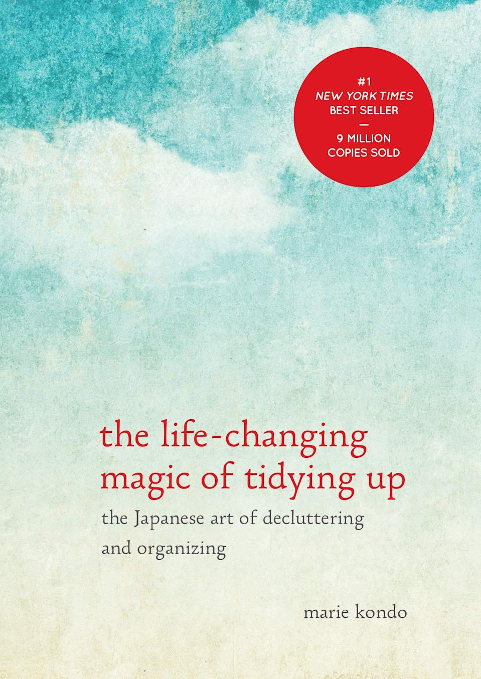 """<h2><em>The Life-Changing Magic Of Tidying Up</em></h2><br>A classic gift for a new organizer, this is a must-read.<br><br><strong>Ten Speed Press</strong> The Life-Changing Magic of Tidying Up: The Japanese Art of Decluttering and Organizing, $, available at <a href=""""https://www.amazon.com/Life-Changing-Magic-Tidying-Decluttering-Organizing/dp/1607747308"""" rel=""""nofollow noopener"""" target=""""_blank"""" data-ylk=""""slk:Amazon"""" class=""""link rapid-noclick-resp"""">Amazon</a>"""