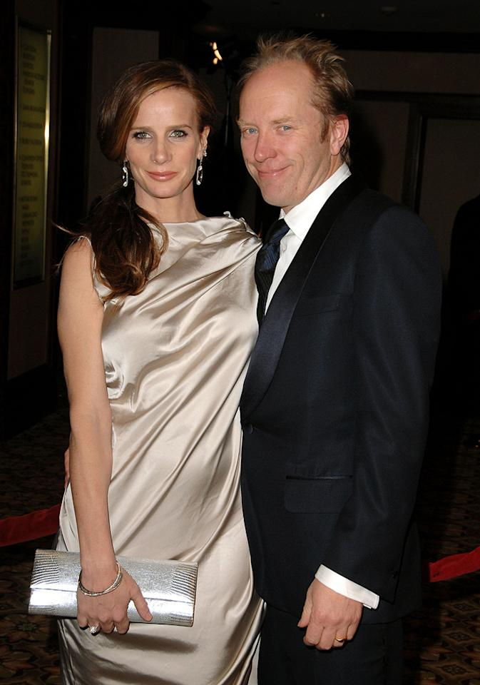 """<a href=""""http://movies.yahoo.com/movie/contributor/1800020218"""">Rachel Griffiths</a> and <a href=""""http://movies.yahoo.com/movie/contributor/1800304058"""">Andrew Taylor</a> at the 61st Annual Directors Guild of America Awards in Los Angeles - 01/31/2009"""