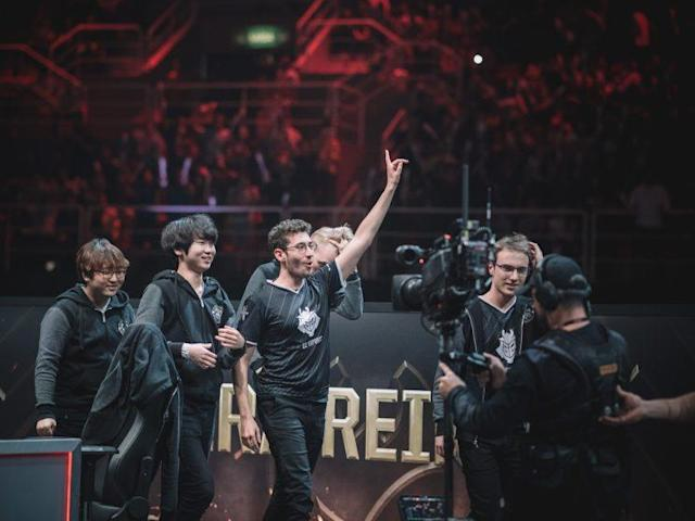 G2 Esports rally to close the 2017 MSI semifinal (lolesports)