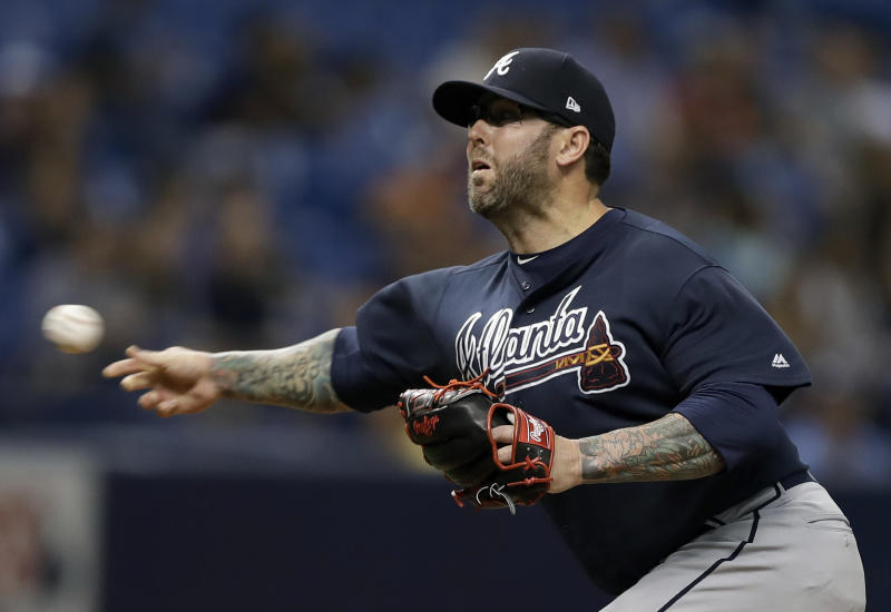 What a crazy ride it's been for Atlanta Braves relief pitcher Peter Moylan. (AP)