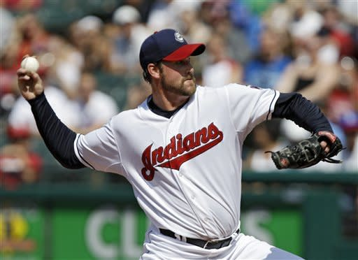 Indians' 14 hits help Lowe beat Angels, 12-3