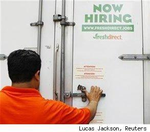 employment service sector mixed