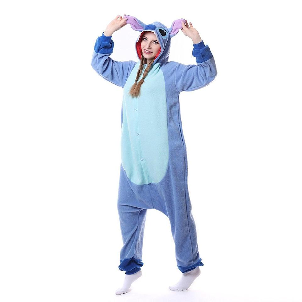 <p>You'll want to wear this Disney-inspired <span>Stitch Onesie</span> ($25-$27) over and over again.</p>