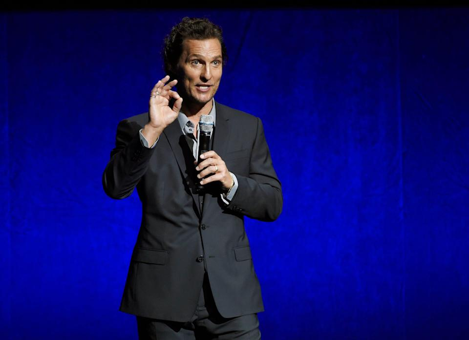 Matthew McConaughey called out anti-maskers saying he can't believe people are scared of a