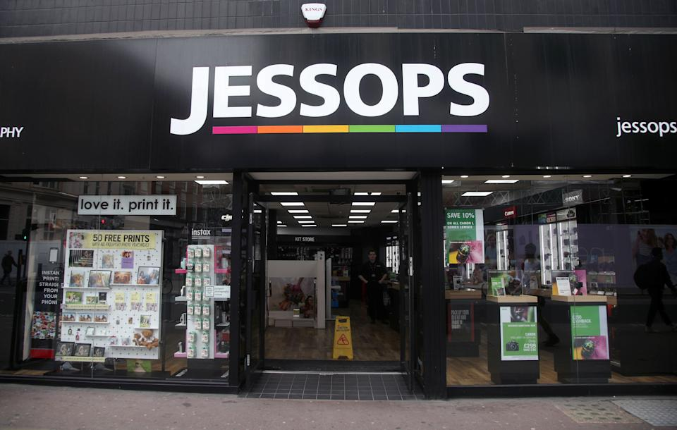 A branch of Jessops on Oxford Street, central London.  (Photo by Yui Mok/PA Images via Getty Images)