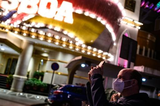 At casinos all staff have been ordered to wear masks and temperature checks are being carried out at entrances