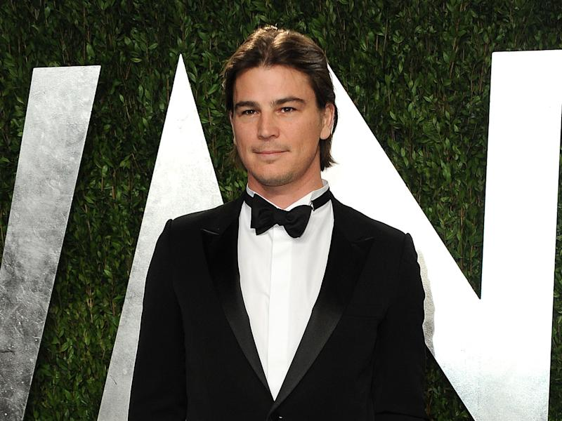 """FILE - In this Feb. 24, 2013 file photo, actor Josh Hartnett arrives at the 2013 Vanity Fair Oscars Viewing and After Party in West Hollywood, Calif. Showtime announced Tuesday, July 30, 2013, that Josh Hartnett and Eva Green have been cast in the period thriller """"Penny Dreadful."""" Hartnett will play an American who finds danger in Victorian London in the drama, which Showtime described as a psychological thriller. Green, who starred in the James Bond film """"Casino Royale,"""" plays a beautiful woman who carries secrets and risk. It begins filming this fall for a scheduled 2014 debut on Showtime. (Photo by Jordan Strauss/Invision/AP, File)"""
