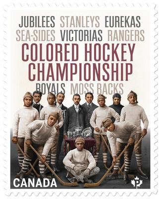 Black History Month stamp (CNW Group/Canada Post)