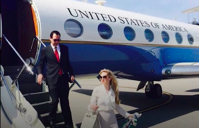 "Steve Mnuchin's travel habits <a href=""https://www.washingtonpost.com/business/economy/treasury-inspector-general-to-review-mnuchin-flight-to-ft-knox/2017/08/31/d9e122d4-8eb2-11e7-91d5-ab4e4bb76a3a_story.html?utm_term=.61cc6d5d32fc"" target=""_blank"">came under official scrutiny</a> in August after his wife, Louise Linton, posted a photograph to Instagram highlighting the luxury designers she was wearing as the couple descended from a government plane they took to Kentucky."