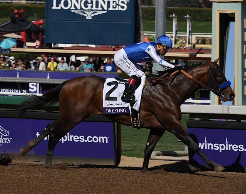 Drefong Wins Breeders Cup Sprint