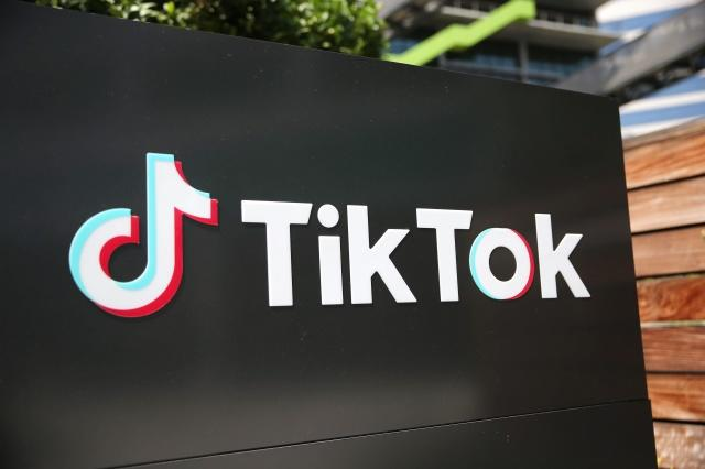 CULVER CITY, CALIFORNIA - AUGUST 27: The TikTok logo is displayed outside a TikTok office on August 27, 2020 in Culver City, California. The Chinese-owned company is reportedly set to announce the sale of U.S. operations of its popular social media app in the coming weeks following threats of a shutdown by the Trump administration. (Photo by Mario Tama/Getty Images)