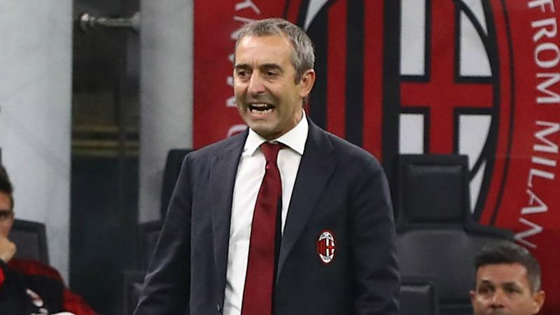 AC Milan sack Giampaolo after just seven games