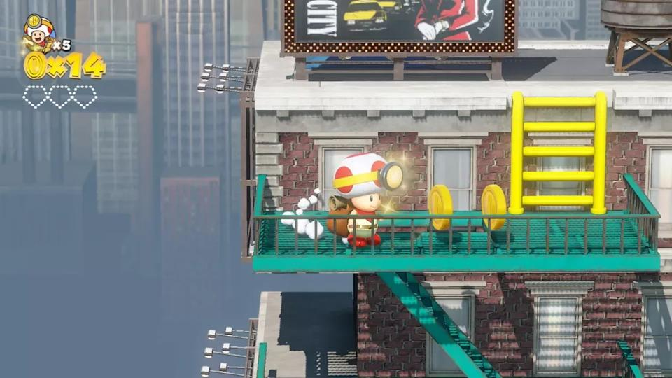 Four of the levels in Captain Toad: Treasure Tracker are inspired by last year's Super Mario Odyssey for the Nintendo Switch.
