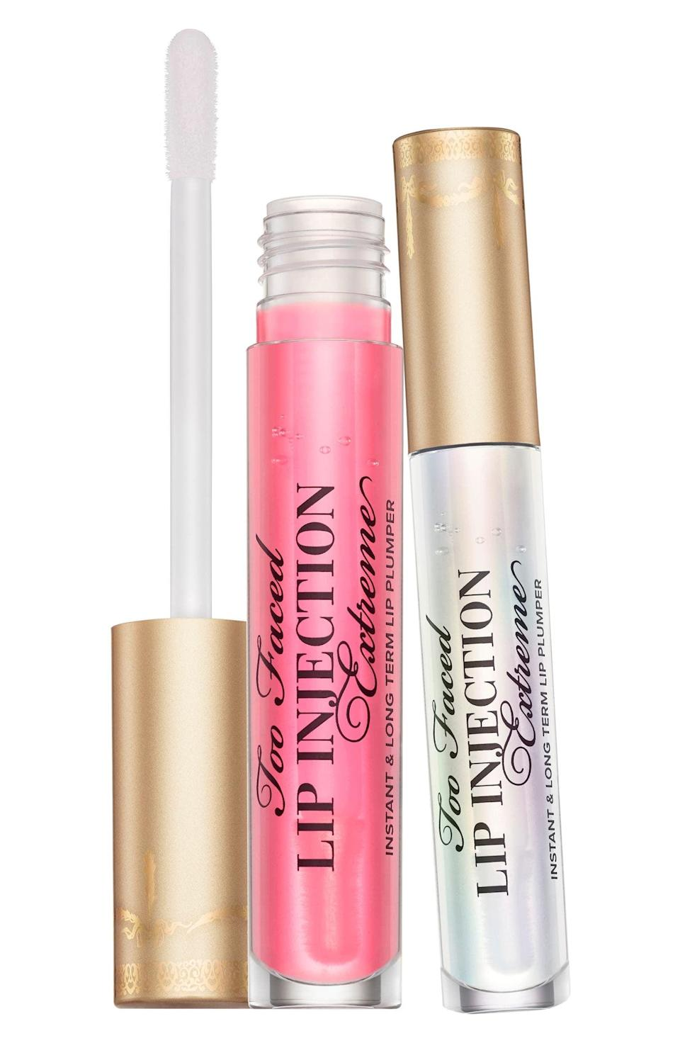 <p><span>Too Faced Full Size Lip Injection Extreme Lip Plumper Set</span> ($39, originally $58)</p>