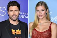 """Nearly two weeks after announcing his <a href=""""https://people.com/tv/brody-jenner-kaitlynn-carter-split/"""" rel=""""nofollow noopener"""" target=""""_blank"""" data-ylk=""""slk:split from Kaitlynn Carter"""" class=""""link rapid-noclick-resp"""">split from Kaitlynn Carter</a>, Jenner has moved on with 22-year-old model Canseco. The two met in N.Y.C. through <a href=""""https://people.com/tag/the-hills/"""" rel=""""nofollow noopener"""" target=""""_blank"""" data-ylk=""""slk:The Hills: New Beginnings"""" class=""""link rapid-noclick-resp""""><em>The Hills: New Beginnings</em></a> costar Frankie Delgado, a source confirmed to <a href=""""https://people.com/tv/brody-jenner-is-dating-josie-canseco-after-kaitlynn-carter-linked-miley-cyrus/"""" rel=""""nofollow noopener"""" target=""""_blank"""" data-ylk=""""slk:PEOPLE"""" class=""""link rapid-noclick-resp"""">PEOPLE</a> on August 13. Jenner's new relationship status has been made official after the reality star's ex Carter was <a href=""""https://people.com/?tout=miley-cyrus-seen-kissing-brody-jenners-ex-kaitlynn-carter-after-liam-hemsworth-split-theyre-having-fun-source-says"""" rel=""""nofollow noopener"""" target=""""_blank"""" data-ylk=""""slk:seen kissing Miley Cyrus"""" class=""""link rapid-noclick-resp"""">seen kissing Miley Cyrus</a>, who recently <a href=""""https://people.com/music/miley-cyrus-liam-hemsworth-split/"""" rel=""""nofollow noopener"""" target=""""_blank"""" data-ylk=""""slk:split from Liam Hemsworth"""" class=""""link rapid-noclick-resp"""">split from Liam Hemsworth</a> after less than a year of marriage. Canseco is the daughter of retired Major League Baseball player Jose Canseco. She made her modeling debut at the 2018 Victoria Secret fashion show."""