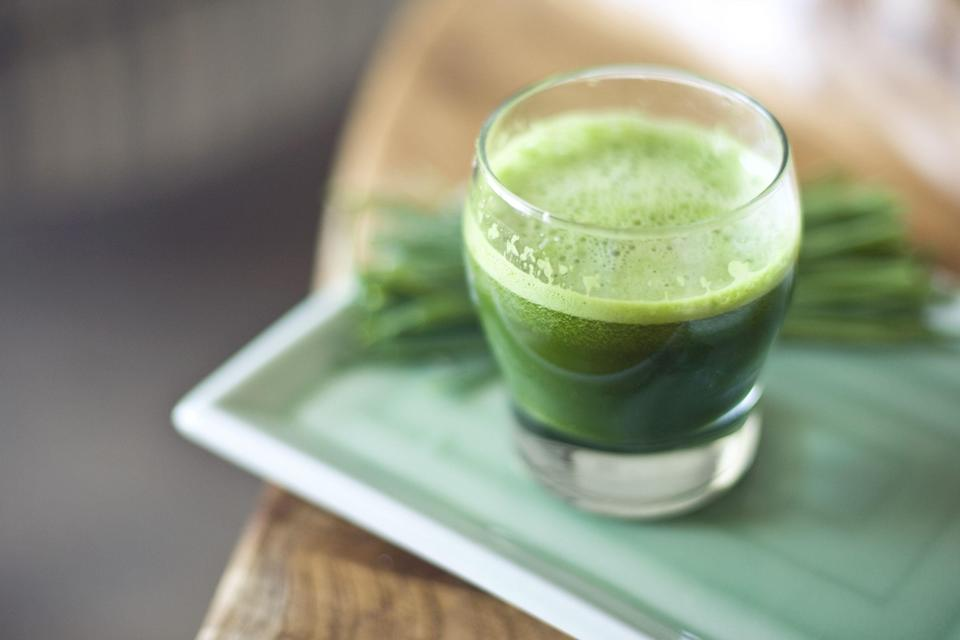 I Took Wheatgrass Shots Every Morning for 2 Weeks. Here's What Happened.