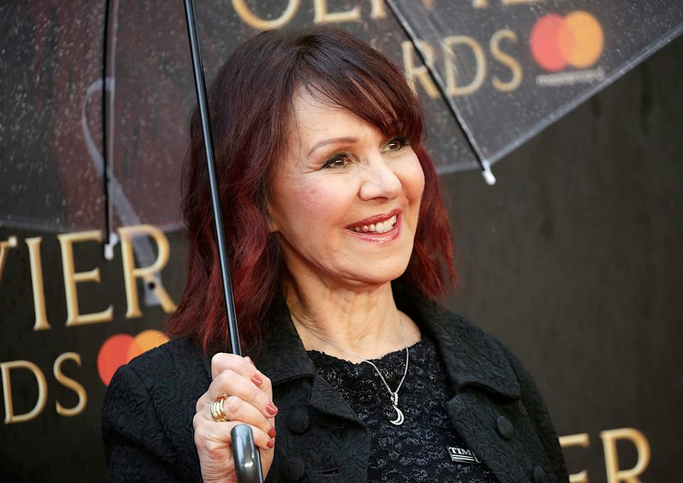 LONDON, ENGLAND - APRIL 08:  Arlene Phillips attends The Olivier Awards with Mastercard at Royal Albert Hall on April 8, 2018 in London, England.  (Photo by John Phillips/John Phillips/Getty Images)