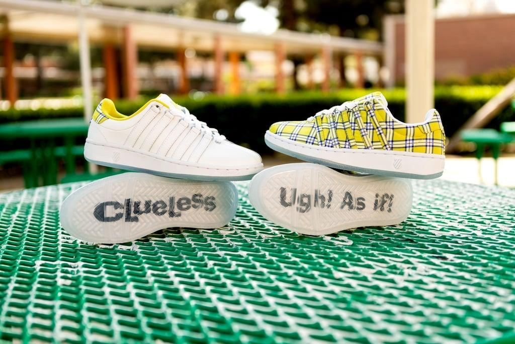 """<p>California-based shoe brand K-Swiss made us feel like we'd boarded a time machine when it released its <a href=""""https://www.popsugar.com/fashion/K-Swiss-Clueless-Sneakers-2019-46138700"""" class=""""ga-track"""" data-ga-category=""""Related"""" data-ga-label=""""https://www.popsugar.com/fashion/K-Swiss-Clueless-Sneakers-2019-46138700"""" data-ga-action=""""In-Line Links"""">limited-edition Clueless capsule collection</a>.</p>"""
