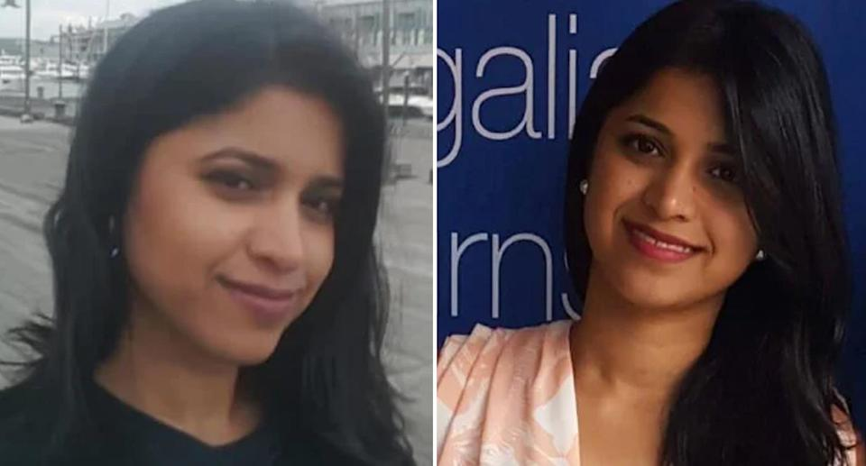 The body of <span>Dr Preethi Reddy</span> was found in a suitcase in a vehicle in Sydney's eastern suburbs. Source: 7 News