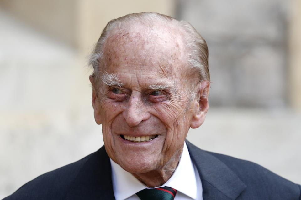 File photo dated 22/07/2020 of The Duke of Edinburgh during a ceremony for the transfer of the Colonel-in-Chief of the Rifles from the Duke to the Duchess of Cornwall. The Duke of Edinburgh has died, Buckingham Palace has announced. Issue date: Friday April 9, 2020.