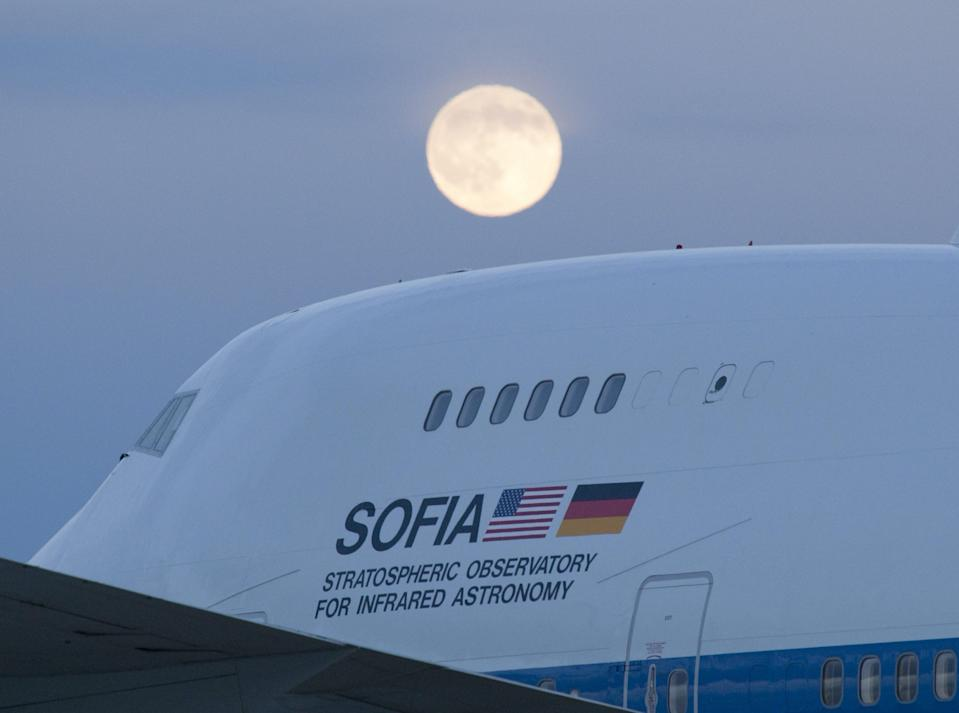 NASA Boeing 747SP SOFIA