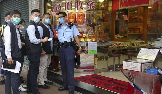 Hong Kong saw an explosion of robberies in the first three months of the year, with 122 incidents compared to 23 for the same period in 2019. Photo: Handout