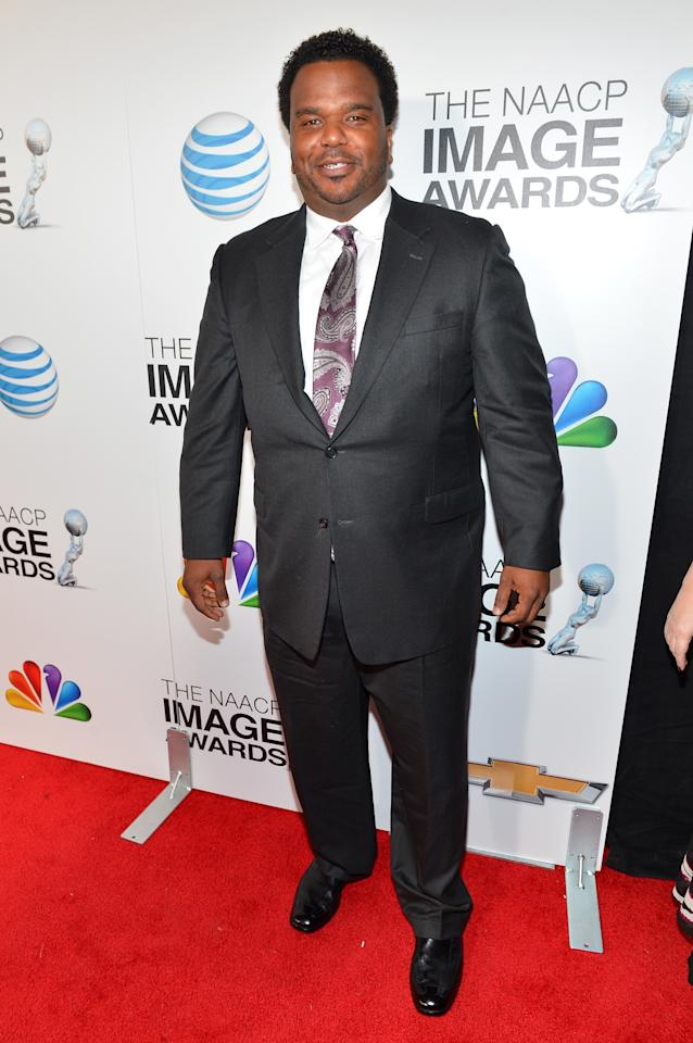 LOS ANGELES, CA - FEBRUARY 01:  Actor Craig Robinson attends the 44th NAACP Image Awards at The Shrine Auditorium on February 1, 2013 in Los Angeles, California.  (Photo by Alberto E. Rodriguez/Getty Images for NAACP Image Awards)