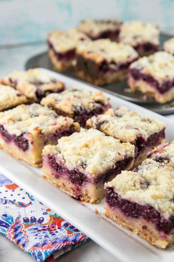 """<p>Pie bars take the best part of summer pies (the crust and fruit filling) and turn them into easy-to-serve squares. </p><p><strong>Get the recipe at <a href=""""https://www.bunsenburnerbakery.com/blackberry-pie-bars/"""" rel=""""nofollow noopener"""" target=""""_blank"""" data-ylk=""""slk:Bunsen Burner Bakery"""" class=""""link rapid-noclick-resp"""">Bunsen Burner Bakery</a>. </strong></p><p><a class=""""link rapid-noclick-resp"""" href=""""https://go.redirectingat.com?id=74968X1596630&url=https%3A%2F%2Fwww.walmart.com%2Fsearch%2F%3Fquery%3Dbaking%2Bdish&sref=https%3A%2F%2Fwww.thepioneerwoman.com%2Ffood-cooking%2Fmeals-menus%2Fg36558208%2Fsummer-pie-recipes%2F"""" rel=""""nofollow noopener"""" target=""""_blank"""" data-ylk=""""slk:SHOP BAKING DISHES"""">SHOP BAKING DISHES</a></p>"""