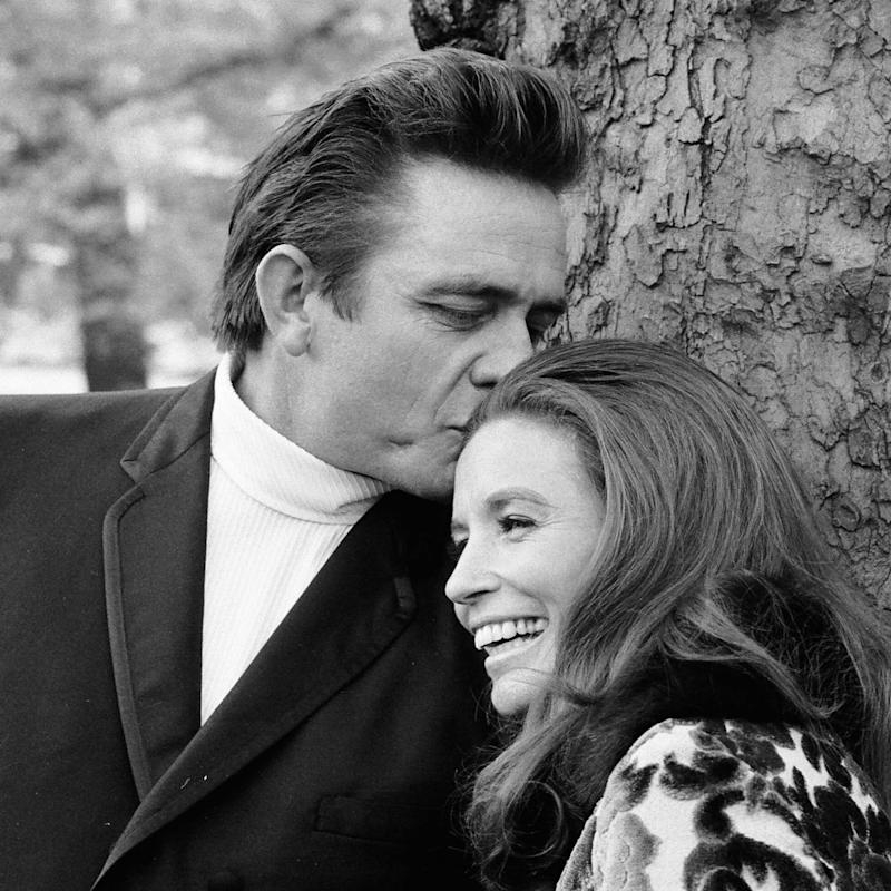 Johnny Cash et June Carter Cash