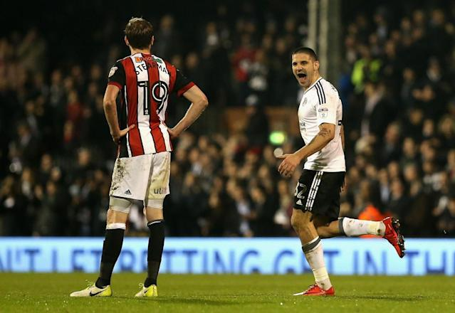 Fulham 3 Sheffield United 0: Aleksandar Mitrovic goals boost Championship promotion hopes
