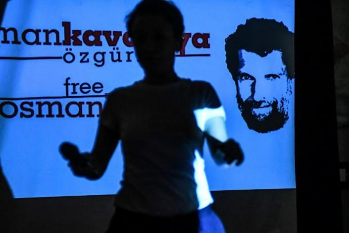 Osman Kavala remains in jail without having ever been convicted (AFP Photo/OZAN KOSE)