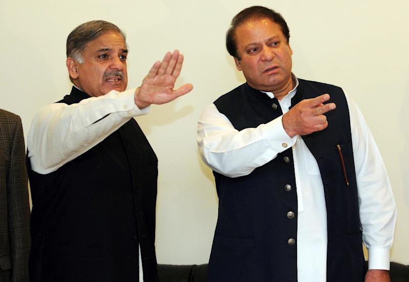 Pakistan's ousted Sharif names his brother as his successor