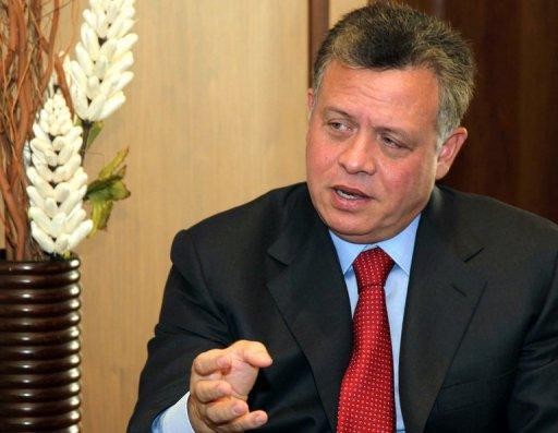 """King Abdullah II told AFP:  """"strong opposition to Jordan's nuclear energy programme is coming from Israel"""""""