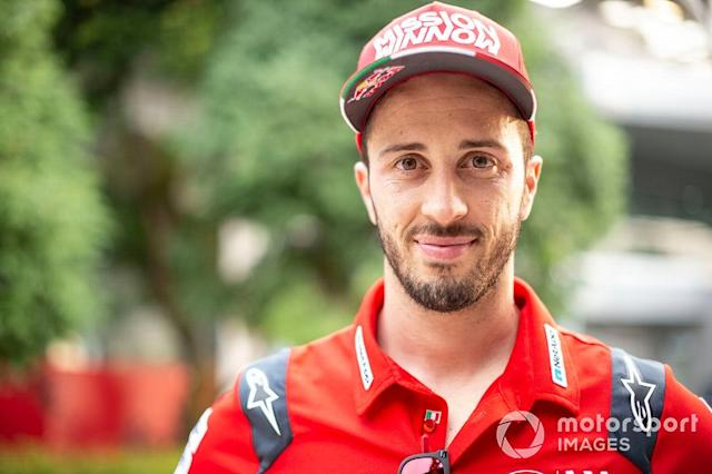 """Bestätigt für 2020: Andrea Dovizioso (Italien) <span class=""""copyright"""">Gold and Goose / LAT Images</span>"""