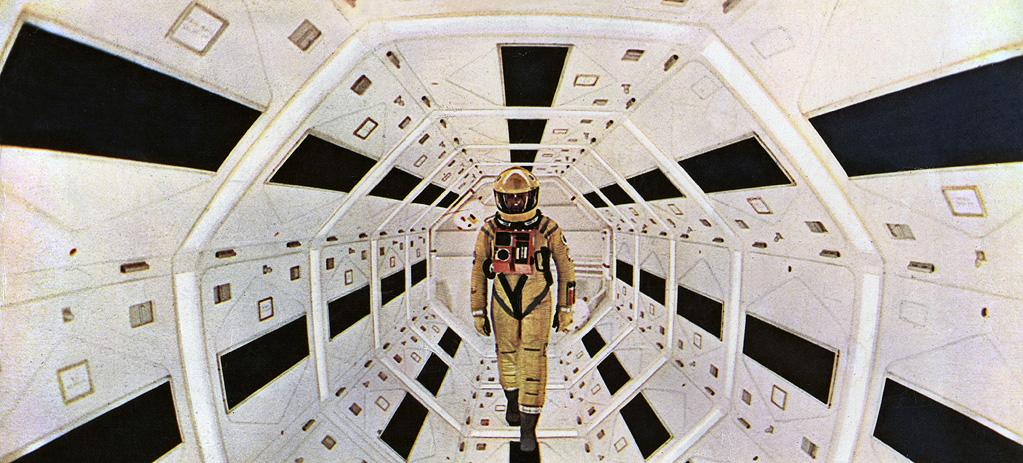 """<a href=""""http://movies.yahoo.com/movie/2001-a-space-odyssey/"""">2001: A SPACE ODYSSEY</a> (1968) <br>Directed by: <span>Stanley Kubrick</span> <br> Starring: <span>Keir Dullea</span>, <span>Gary Lockwood</span> and <span>William Sylvester</span>"""