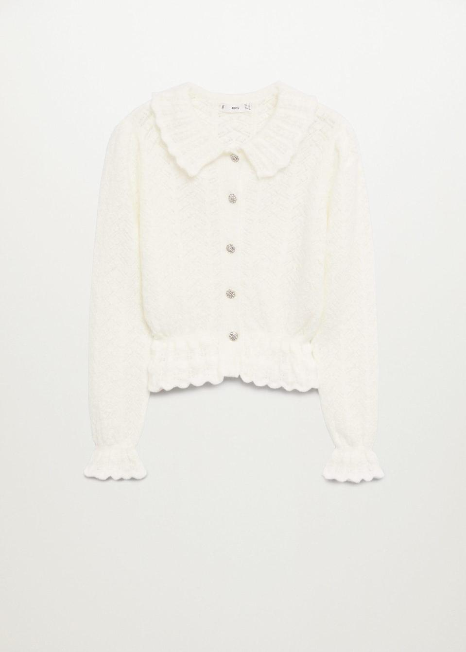<p>This feminine <span>Cardigan</span> ($60) is a step above the rest.</p>